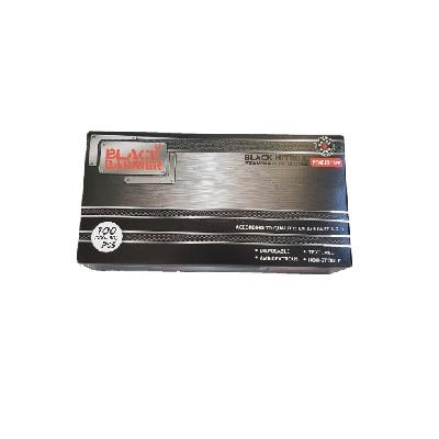 BLACK NITRILE GLOVES POWDER FREE box